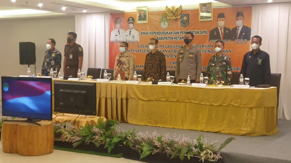 Menghadiri Undangan Disdukcapil Kabupaten Ketapang